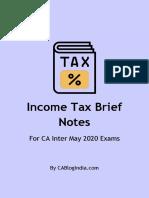 income tax brief demo