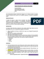 Enunciado Trabajo Parcial - Final 2020-I