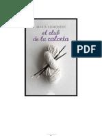 Reimóndez, María - El club de la calceta