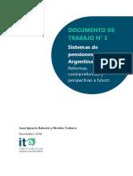 Sistema de Pensiones en Argentina y Bolivia, Reformas =Bolivia.2016