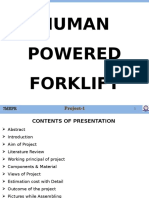 Human Powered Forklift_PPT