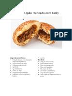 Kare Pan (pão recheado com karê)
