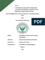 Critical Journal Literasi Bahasa Indonesia