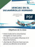 Clase 4 DP. Influencias en el Desarrollo