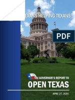 Reopen Texas List