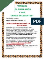 MANUAL DEL BUEN AMOR Y LAS OBRAS EXCELENTES