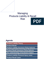 Recall Product Liability