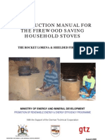 Construction Manual Rocket Stoves