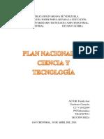 Trabajo de Plan Nacional de Ciencia y Tecnologia.