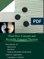 Fluid Kinematics