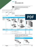Transformador de corrente - Instruction
