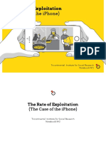 Iphone and Rate of Exploitation