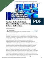 Analisis de Confiabilidad, Disponibilidad y Mantenibilidad de un Sistema de Bombeo. _ LinkedIn.pdf
