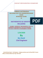 200 plus solved probs in MATH & SUR BY Engr. Ben David.pdf