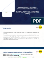 Manipulación de Alimentos - Instructivo formación virtual.pdf