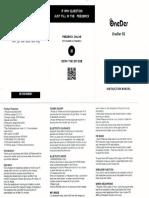 Head Phone OneDer S2 Manual Usuario
