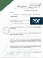 Decr764 (LP) - Cuarentena - Exceptuar Actividades y Protocolos