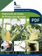 Elaboracion de Costos de Produccion Agricola