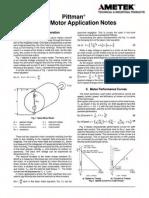 Servo Motor Engineering Basics