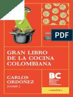 Gran libro de la cocina colombiana (Carlos Ordóñez Caicedo)