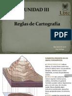 REGLAS DE CARTOGRAFIA