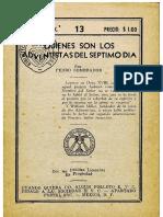 E.V.C. - 013 - Adventistas del Sepmo Día