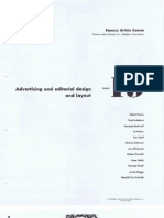 19 Advertising and Editorial Design and Layout