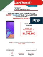 BAJA DE PRECIO SAMSUNG A9 128GB
