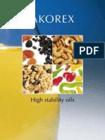 Akorex High Stability Oils