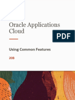 Oracle Applications Cloud - Using Common Features