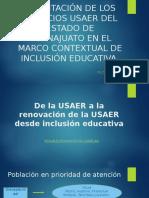 Nuevo modelo USAER Guanajuato 2018