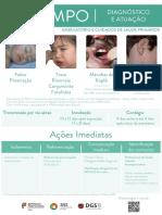 sarampo - cartaz DGS