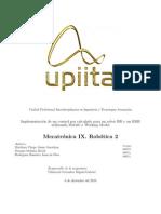 """UPIITA Mecatrónica 9 control par calculado para robot """"RR"""" y """"RRR"""""""