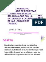 ANSI Z16.2