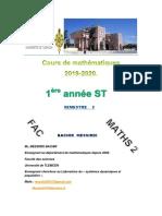 Cours ST 2ème semestre -MESSIRDI BACHIR-.pdf