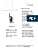 Folleto Router Mobile3G-242T