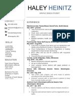 actual resume