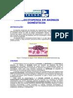 Trombocitopenia em animais domesticos