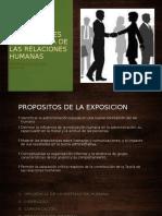 IMPLICACIONES DE LA TEORÍA DE LAS RELACIONES HUMANAS (1)