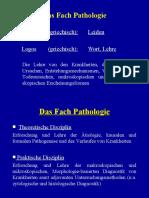 Das Fach Pathologie