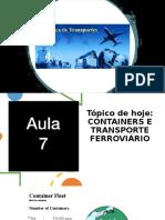 Aula 07.2 - Gestão de Transportes UNG