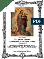 Solemnidad de san José obrero. 1 de mayo. GUÍA DE LOS FIELES PARA LA SANTA MISA CANTADA.  Kyrial Angelis