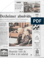 Lia Pires - Antônio Dexheimer é absolvido no caso Daudt