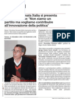 Www.varese7press.it Prossima Fermata Italia Si Presenta Anche a Varese Non Siamo Un Partito Ma Vogliamo Contribuire All Innovazione Della Politica