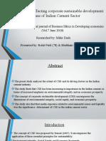 Topic  New paper Rohit(78)and Shubham(79)