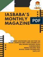 IAS-UPSC-Current-Affairs-Magazine-JANUARY-2020-IASbaba-1