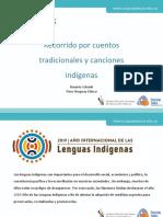 Recorrido por cuentos tradicionales ycanciones indígenas.ppt
