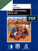 Sobre las huellas de la voz - López L E.pdf