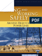 Living and Working Around High Voltage Power Lines 11-07