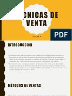 TECNICAS DE VENTA clase 5.pdf